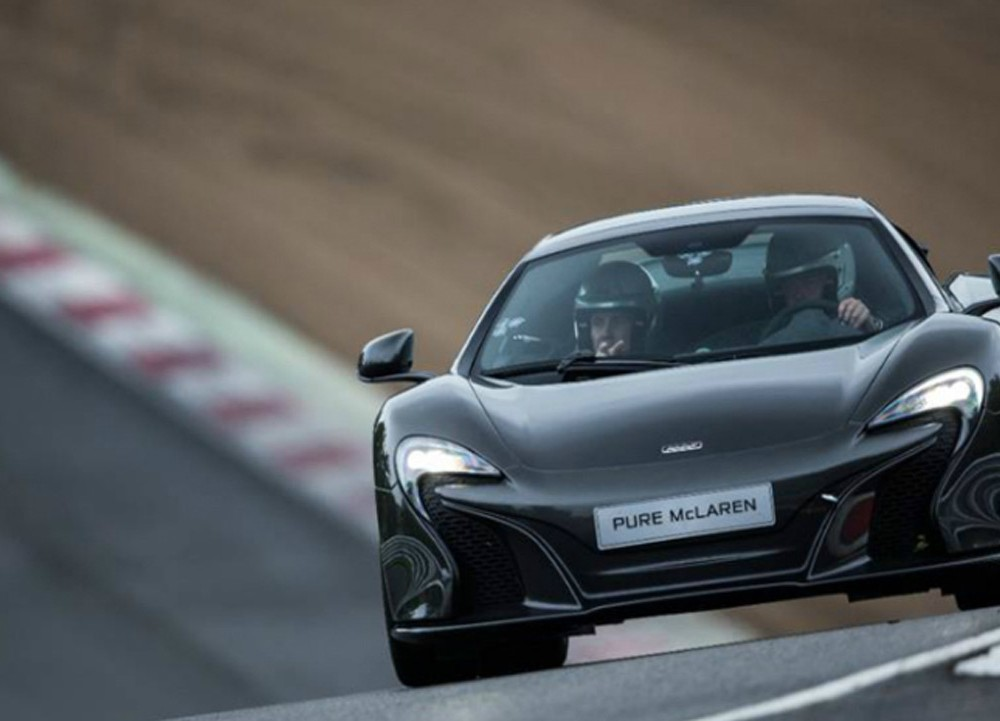 McLaren 570S road and track test drive